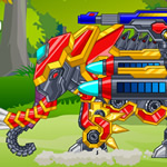 Jeu Zoo Robot Elephant