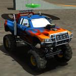 Jeu Monster Truck Arena Stunts