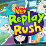 Jeu Phineas and Ferb Replay Rush