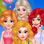 Jeu Princesses - Tour en Montgolfière