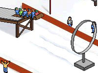Jeu Wedü Toboggan Jump 2002