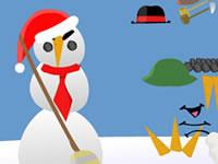 Jeu Create-A-Snowman