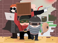 Jeu Team of Robbers