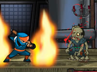 Jeu Ninja vs Zombies 2