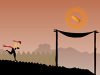 Jeu gratuit Run Ninja Run - Unexpected Road