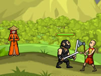 Jeu Ninja and Blind Girl 2