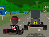Jeu Karting Super Go