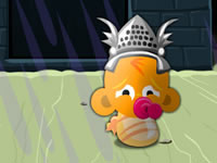Jeu gratuit Monkey Go Happy - The Castle