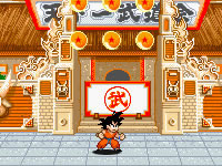 Jeu Dragon Ball Z - Goku Jump