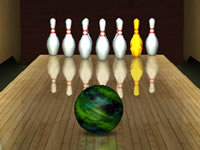 Jeu 3D Bowling