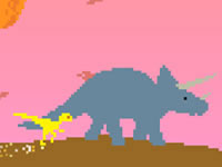 Jeu gratuit Dino Run - Enter Planet D