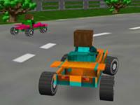 Jouer à 8 Bits 3D Racing