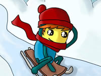 Jeu gratuit Pajama Boy - Snow Adventure