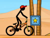 Jeu Stickman Freestyle BMX