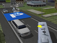 Jeu School Bus Parking 3D