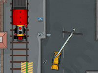 Jeu Railroad Crane Parking