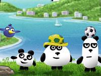 Jeu gratuit 3 Pandas In Brazil