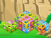Jeu Animal Cubes