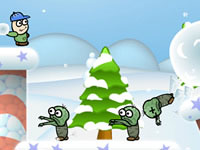 Jeu Winter Zombie Invasion