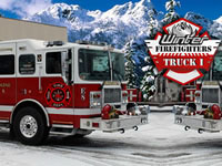 Jeu Winter Firefighters Truck