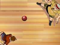 Jeu Dodgeball : Target Practice