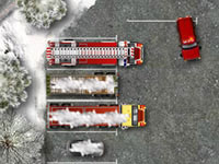 Jeu Winter Firefighters Truck 2