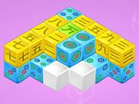 Jeu Mahjong Cubes