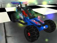 Jouer à Lego - Technic Pull Back