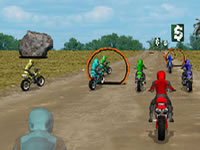 Jeu Dirtbike Racing