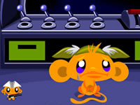 Jeu gratuit Monkey Go Happy Sci-fi