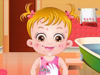Jouer à Baby Hazel Skin Trouble