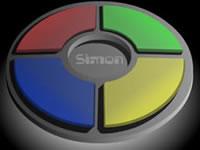 Jeu Simon memory test