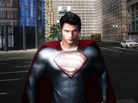 Jeu Man of Steel Hero's Flight