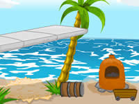 Jeu Escape Survivor Island - Day 4