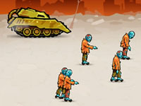 Jeu Tank Rage in Zombie City