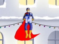 Jeu Christmas Super Hero
