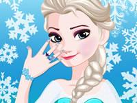 Jeu Manucure pour Elsa