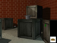 Jeu gratuit Escape the Bricks Basement