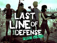 Jeu Last Line Of Defense - First Wave