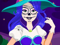 Jeu Coudre son costume d'Halloween