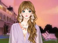 Jeu Etre élégante en violet