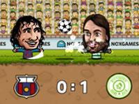 Jeu Puppet Soccer Champions