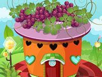 Jeu Créer une maison avec des fruits