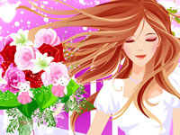 Jeu Choisir son bouquet de mariage