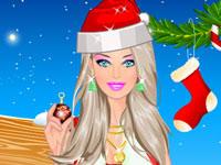 Jeu Barbie de Noël
