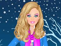 Jouer à Barbie s'habille pour l'hiver