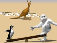Jeu Yetisports - Albatros Overload