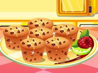 Jeu Recette de muffins au chocolat