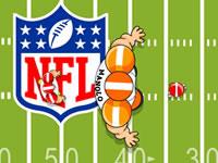 Jeu Esquive de football américain