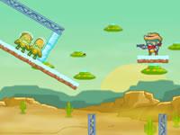 Jouer à Cowboy vs Martians